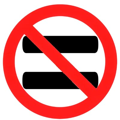 anti-equality